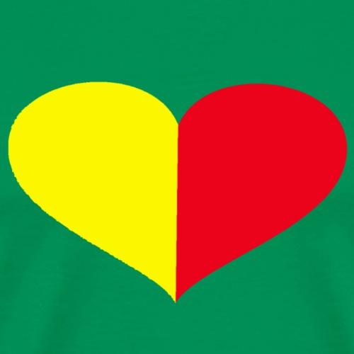 cuore giallorosso pieno