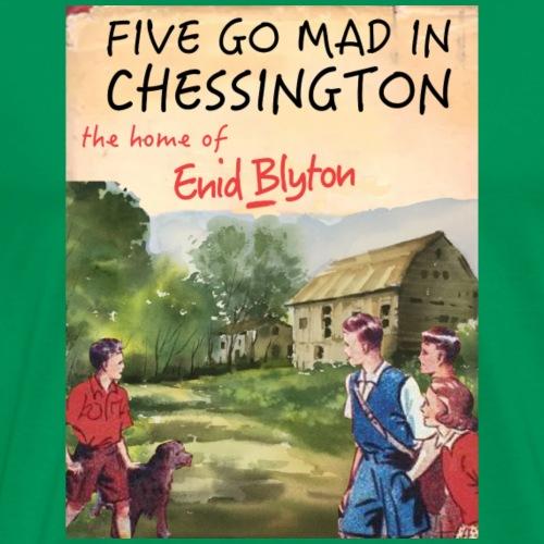 Five Go Mad In Chessington - Men's Premium T-Shirt