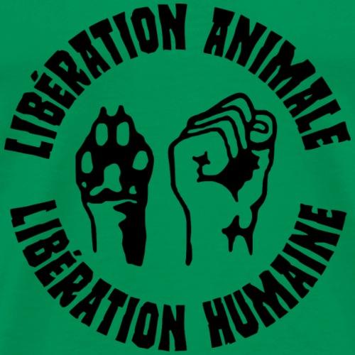 Libération animale, libération humaine - T-shirt Premium Homme