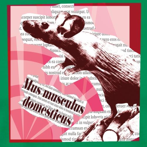 Mus musculus - punainen - Miesten premium t-paita