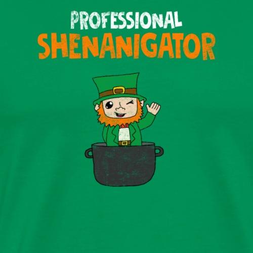 Professional Shenanigator - Herre premium T-shirt