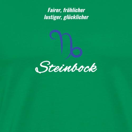 Sternzeichen Zodiak Steinbock Geburtstag Dezember - Männer Premium T-Shirt