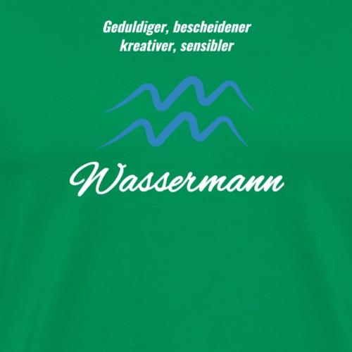Sternzeichen Zodiak Wassermann Geburtstag Januar - Männer Premium T-Shirt