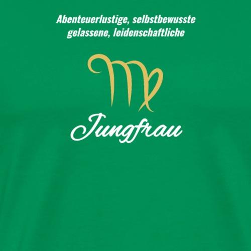 Sternzeichen Zodiak Jungfrau Geburtstag August - Männer Premium T-Shirt