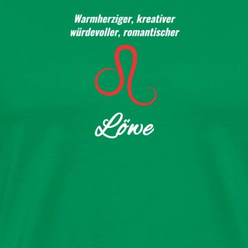 Sternzeichen Zodiak Löwe Geburtstag August Juli - Männer Premium T-Shirt