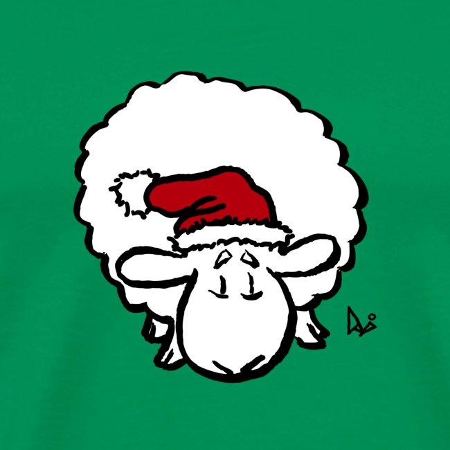 Santa Sheep (rouge)