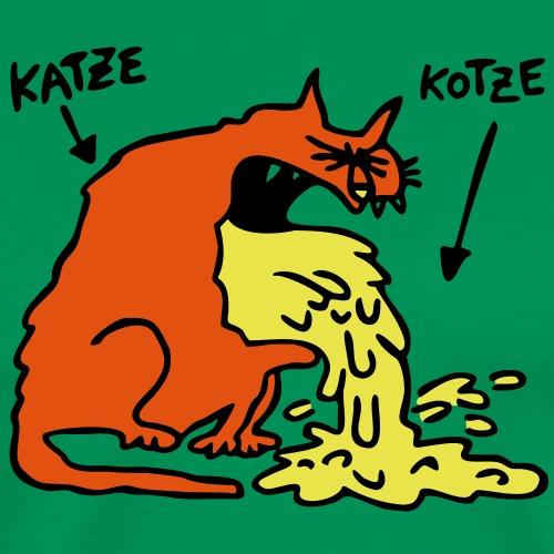 KatzeKotze - Männer Premium T-Shirt