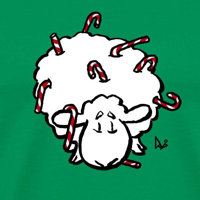 Candy Cane Sheep