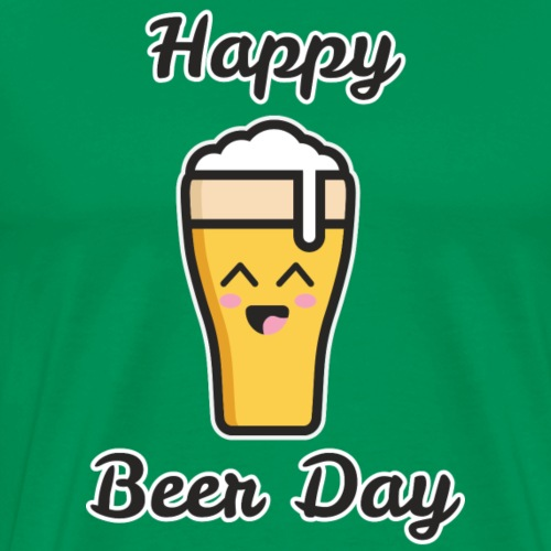 happy beer day - T-shirt Premium Homme