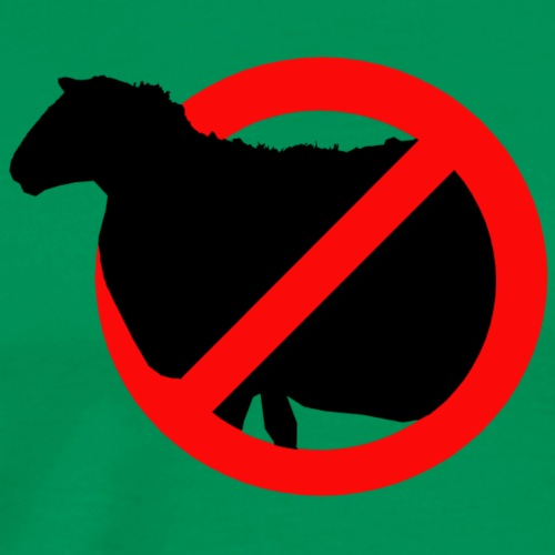 No Sheep - T-shirt Premium Homme