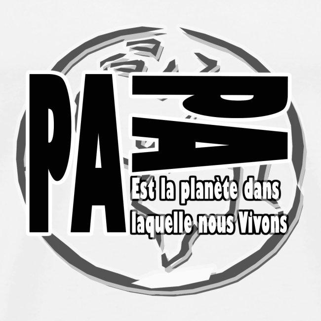 Papitou planet 2 - CADEAU PAPA T-SHIRT HOMME
