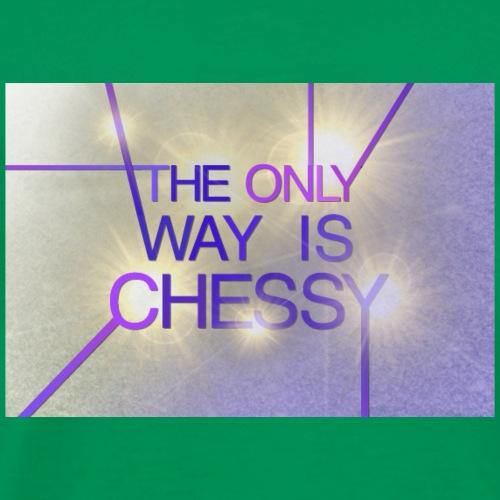 Only Chessy - Men's Premium T-Shirt