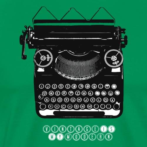 TYPEWRITER_1 - Männer Premium T-Shirt