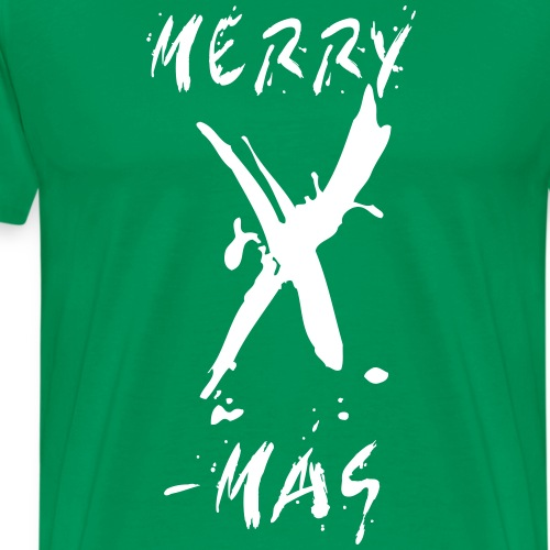 Merry X-mas Drops - Männer Premium T-Shirt