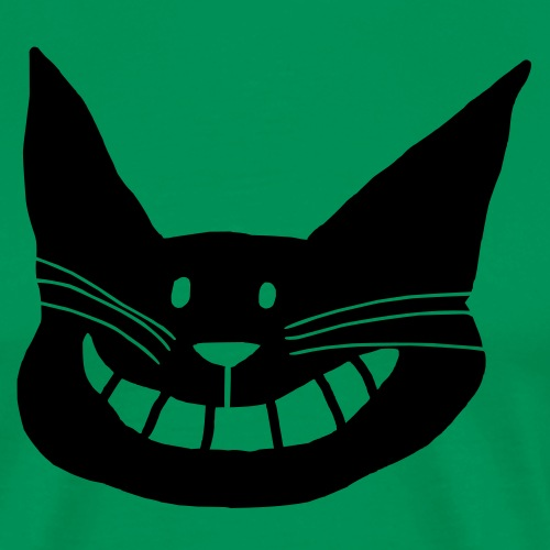Grinsekatze - Männer Premium T-Shirt