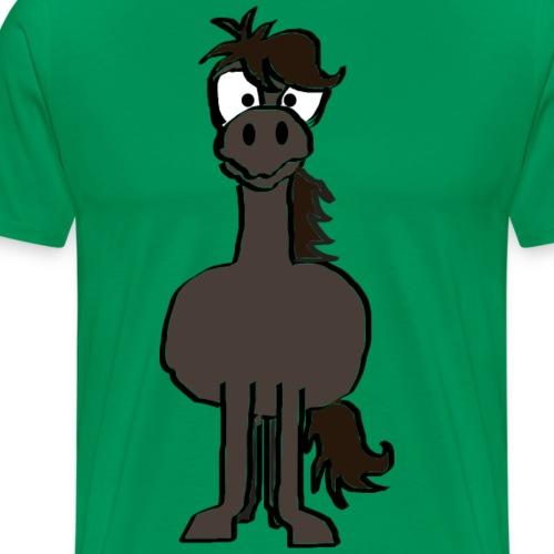 LuckyHorseklein - Männer Premium T-Shirt