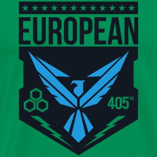 European 405th logo no white - Mannen Premium T-shirt