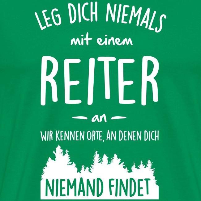 Vorschau: Reiter - Männer Premium T-Shirt
