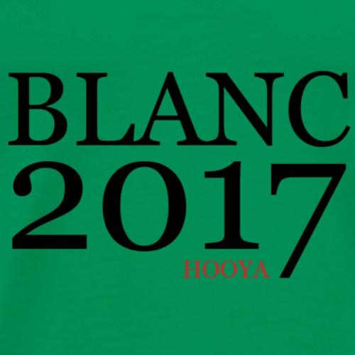 hooya BLANC 2017 - T-shirt Premium Homme