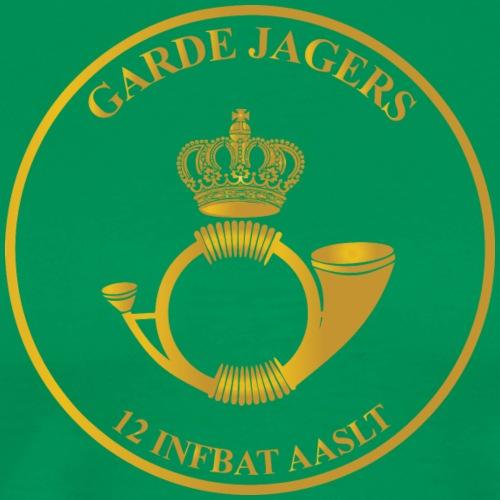 Garde Jagers 12 Infbat AASLT - Mannen Premium T-shirt