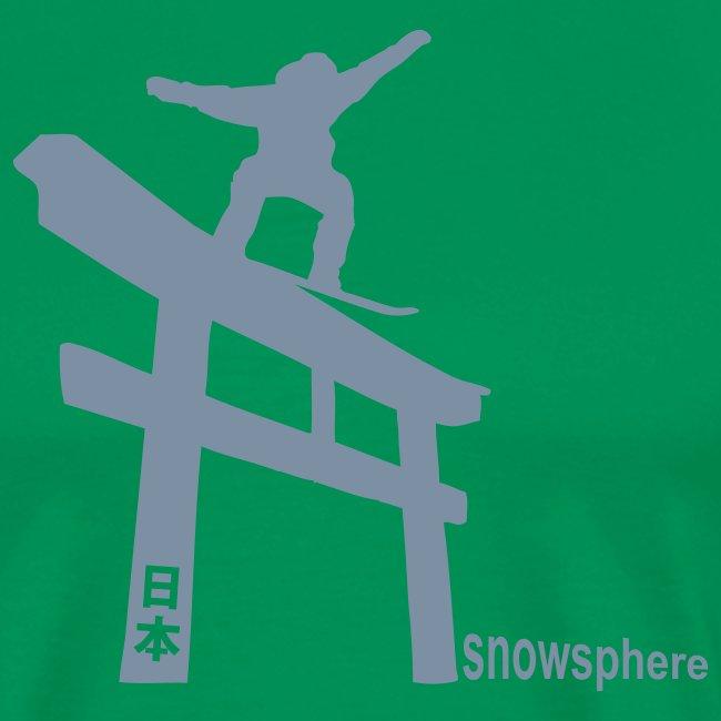 Snowboard Japan Torii Slide