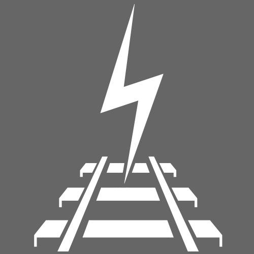 Logo Bahnstromer v9 6 2 - Männer Premium T-Shirt