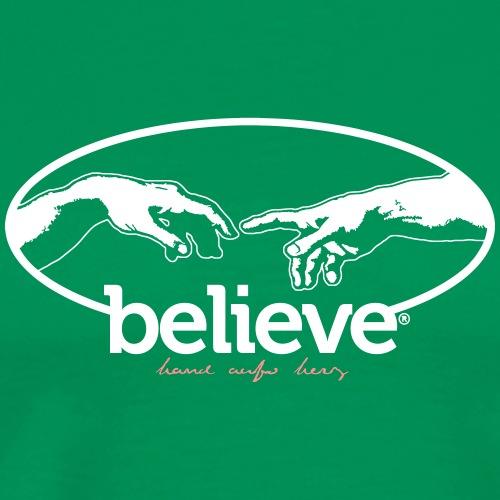 Believe - Männer Premium T-Shirt