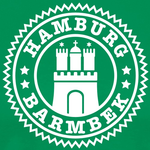 Hamburg Stadtteil Barmbek B - Männer Premium T-Shirt