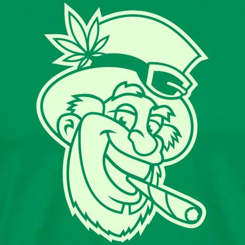 Jamaican Leprechaun - Männer Premium T-Shirt
