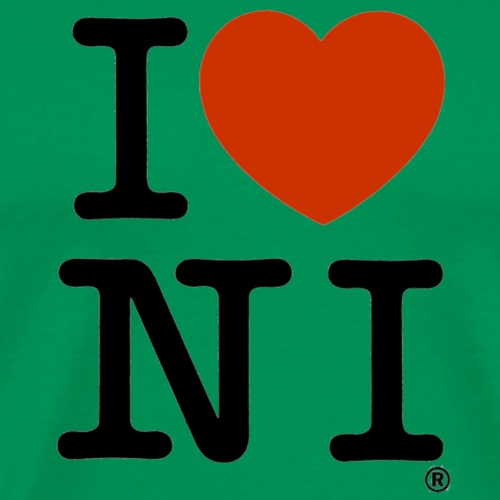 I heart NI - Men's Premium T-Shirt