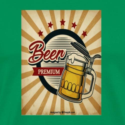 Vintage Beer - Männer Premium T-Shirt