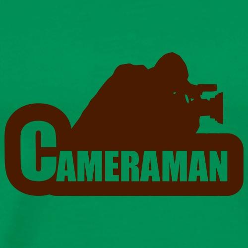 Cameraman - Mannen Premium T-shirt