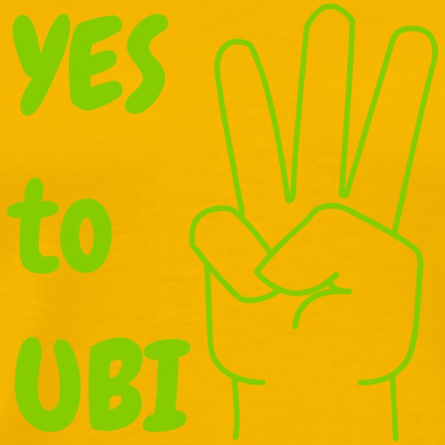 Yes to UBI