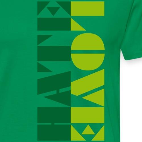 LOVEHATE - Maglietta Premium da uomo
