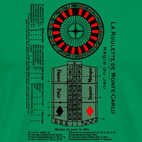 Roulette Casinò - Maglietta Premium da uomo