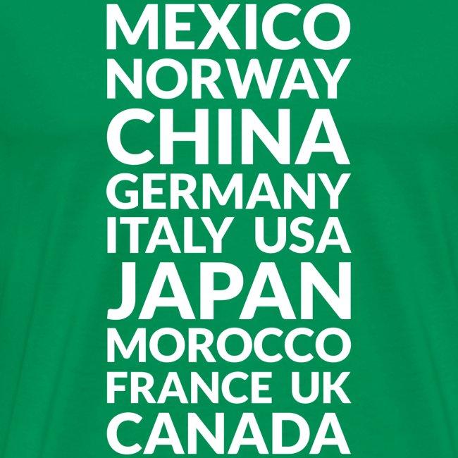 World Showcase countries (light)