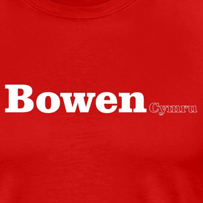 bowen cymru white