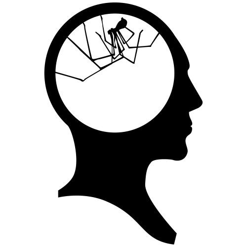 brain spider - T-shirt Premium Homme