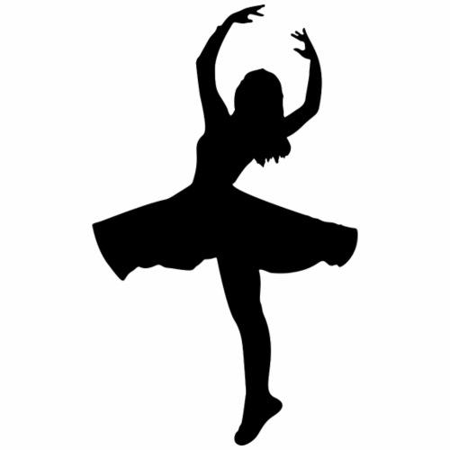 ballerina silhouette - Men's Premium T-Shirt