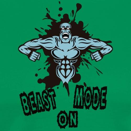 Beast Mode - Miesten premium t-paita