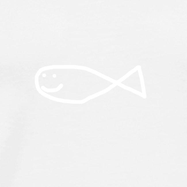 Klassisk Strandfisk Hoodie