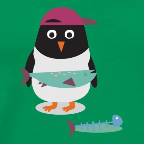 Spendenmotiv 7: Pipi, der Pfiffige Pinguin (Ohne T - Männer Premium T-Shirt
