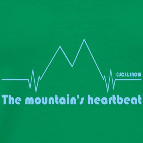 Heartbeat ECO - Maglietta Premium da uomo