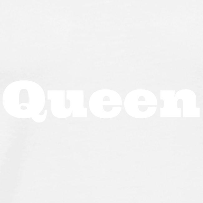 Snapback queen blauw/rood