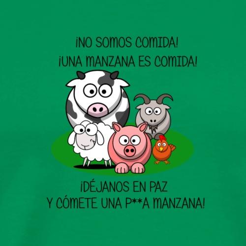 NO SOMOS COMIDA - Camiseta premium hombre
