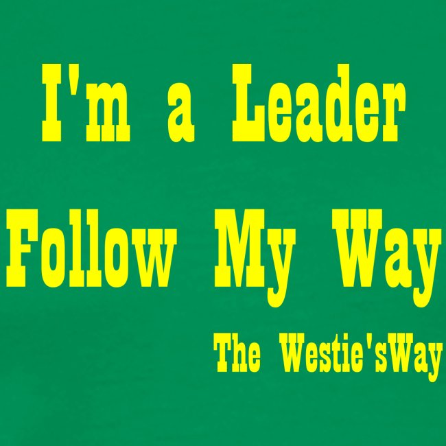 Follow My Way Yellow
