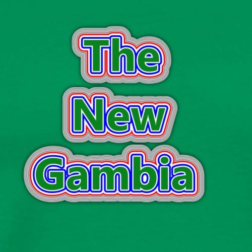 The Nwe Gambia - Men's Premium T-Shirt