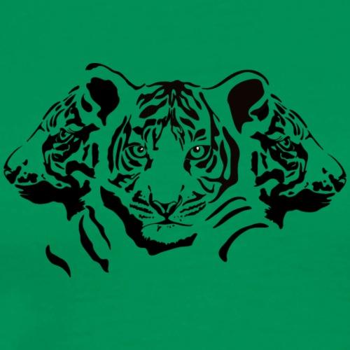 Tres tigrecitos - Camiseta premium hombre
