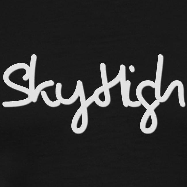 SkyHigh - Women's Premium T-Shirt - Gray Lettering