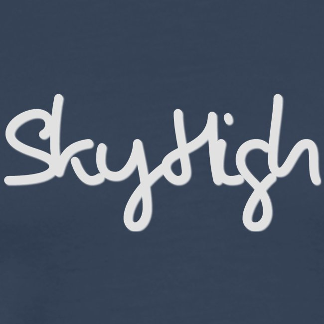 SkyHigh - Women's Premium T-Shirt - Gray Lettering